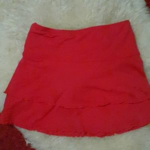 Body Glove red cover up, skirt